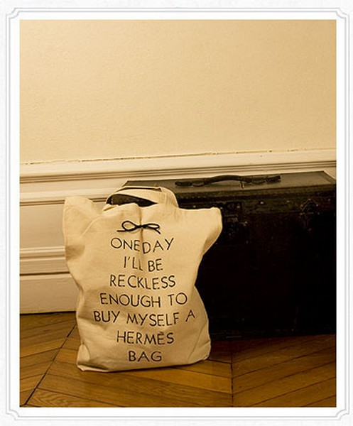 Дизайнерские эко-сумки с провокационными слоганами