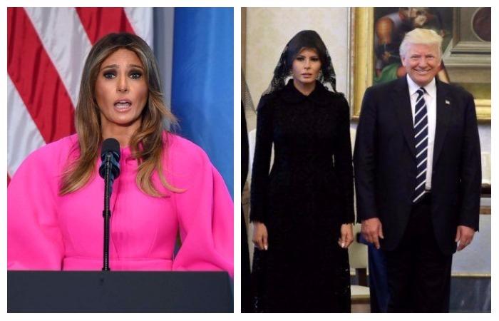 10 противоречивых образов Меланьи Трамп.