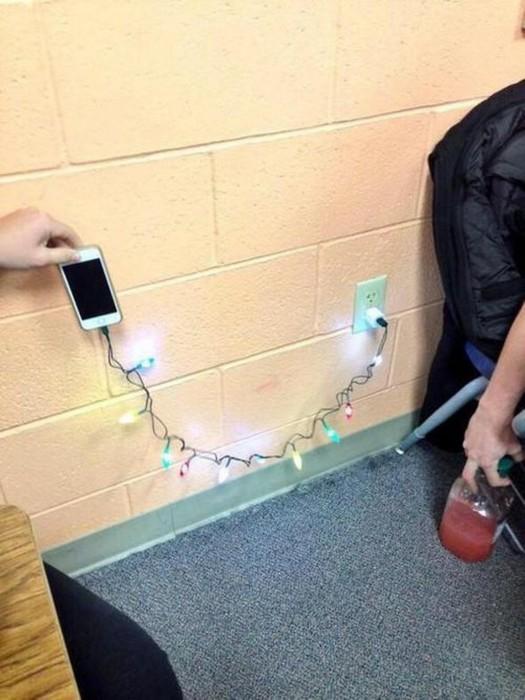 Гирлянда для айфона Phone Merry Charger