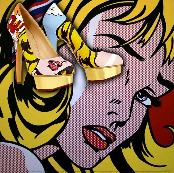 Ван Гог, Пикассо и туфли от Charlotte Olympia