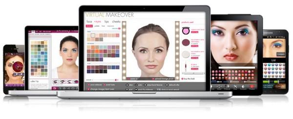 Интернет приложение ModiFace Inc позволит примерять новую одежду или попробовать новинки косметики, не выходя из дома