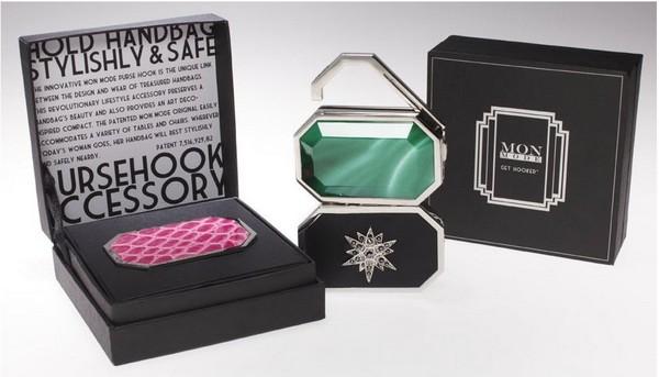 Элегантные крючки для сумок Mon Mode для аккуратности ваших аксессуаров