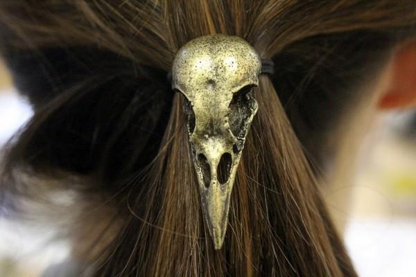 Мрачноватые дизайнерские украшения с животными мотивами от Moon Raven Designs