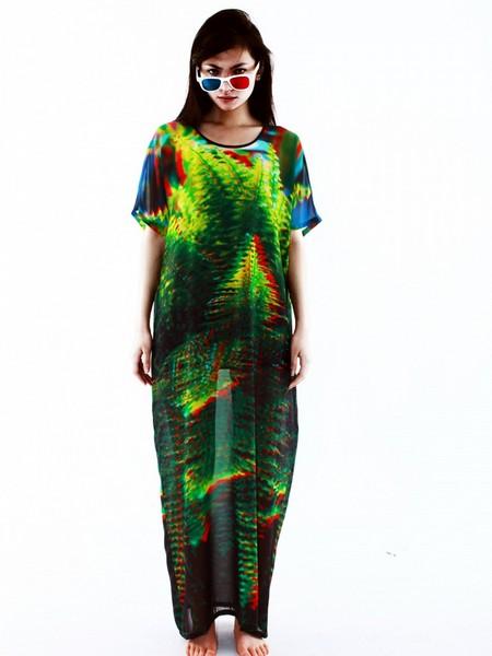 Стильные вещи с трехмерными изображениями от малазийского бренда NOUMENON