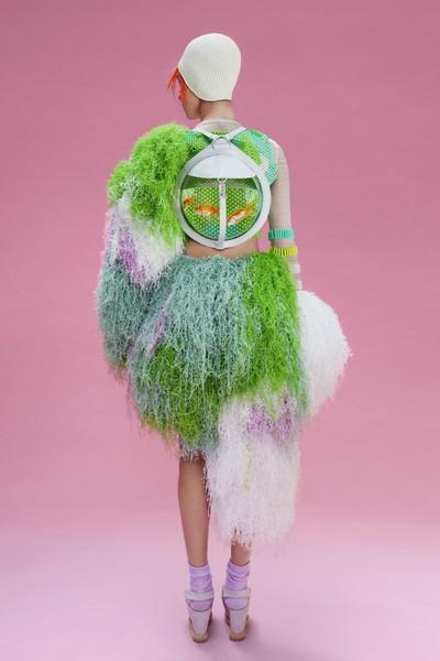 Коллекция эксцентричной одежды «Дочь Нептуна»