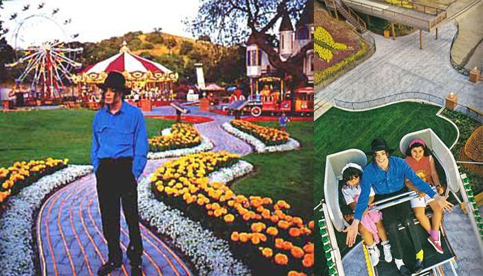 Так Neverland выглядел раньше…