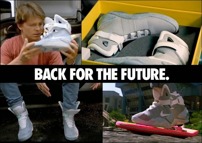 Nike MAG – кроссовки Марти Макфлая  из «Назад в Будущее»