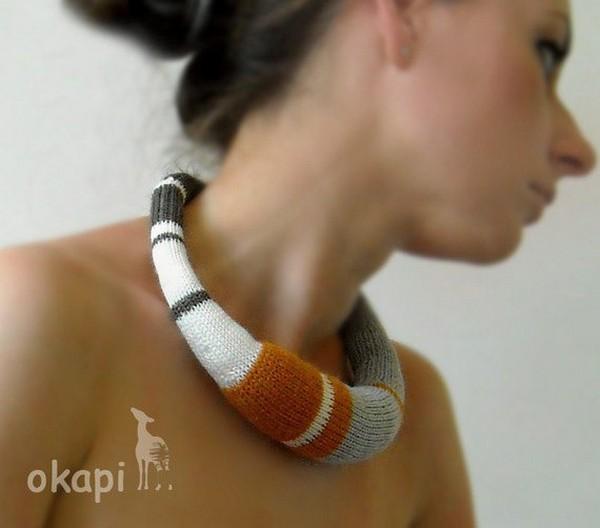 Коллекция ажурных вязаных украшений из мировой столицы моды