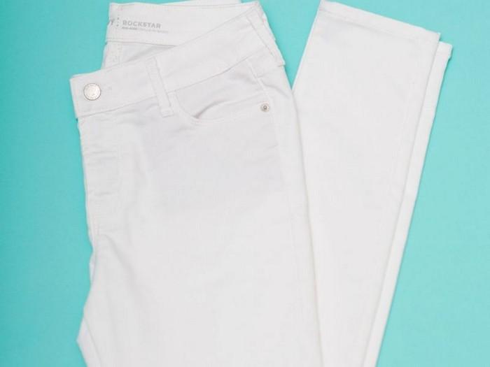 Белые джинсы от Old Navy, которые совсем не пачкаются
