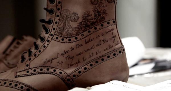Татуированная обувь от знаменитого мастера Henry Hate