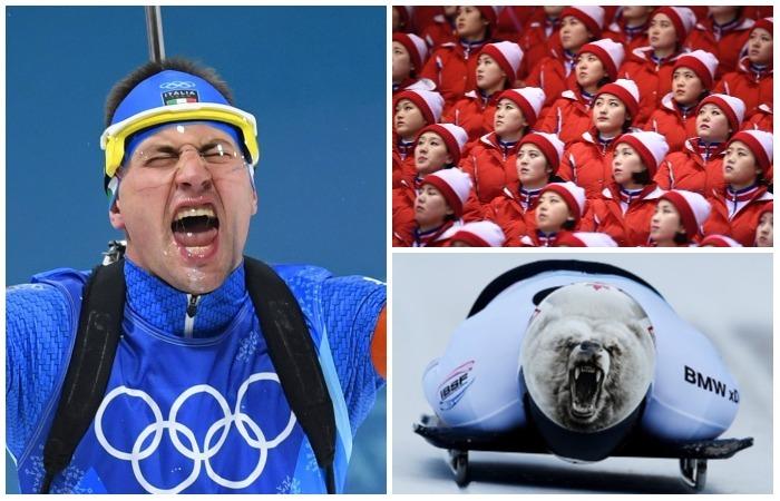 Лучшие фотографии с Зимних Олимпийских игр-2018.