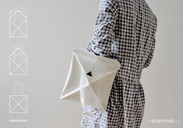 Сумки-оригами Omni могут принимать множество форм