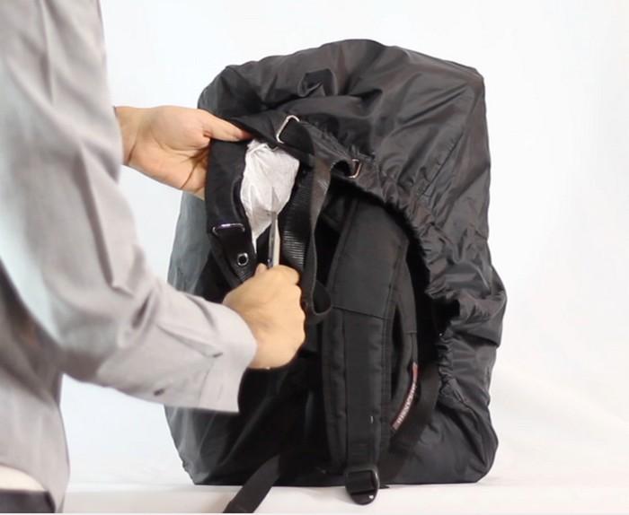 Option Pack Save Cover – чехол для рюкзака с функцией «антивор» из сверхпрочного материала