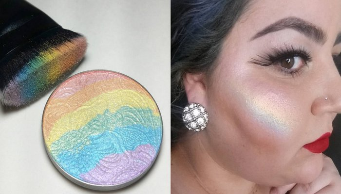 Радужный хайлайтер-румяна  PRISM – новый хит социальный сетей