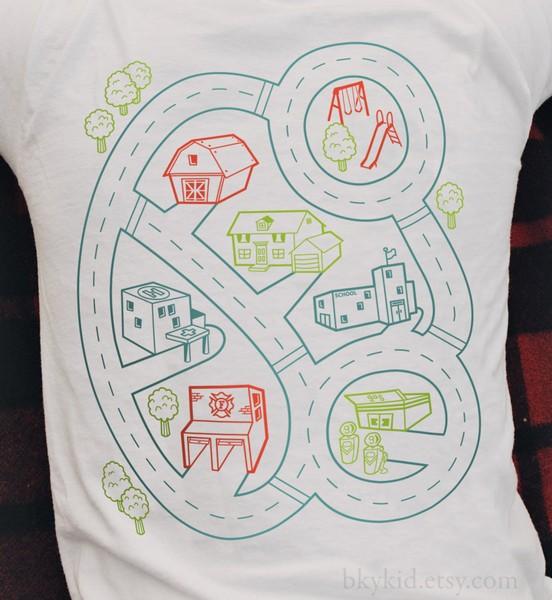 Футболки-игры для детей и их родителей Play Mat