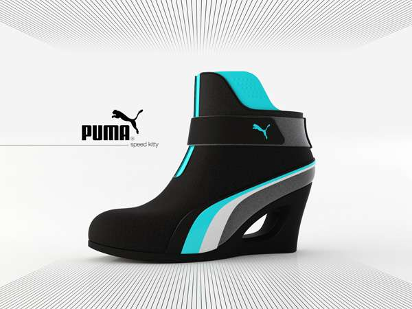 Speed Kitty - первые ботильоны от Puma