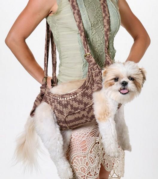 Инновационная сумка для собак