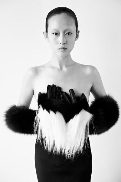 Мистическая коллекция зимней одежды  от Цю Хао (Qiu Hao)