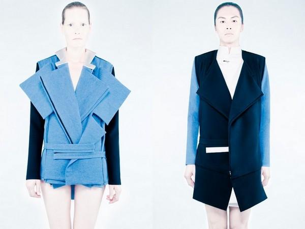 Одежда-трансформер из андрогинной коллекции Рэда Хурани (Rad Hourani)