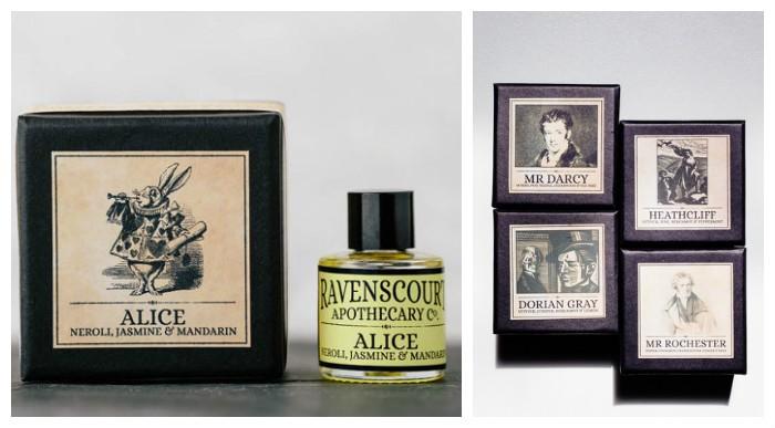 От Алисы до Дориана Грея: ароматы героев мировой литературы