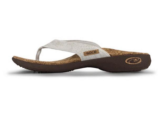 Рациональная обувь из пробки Sole