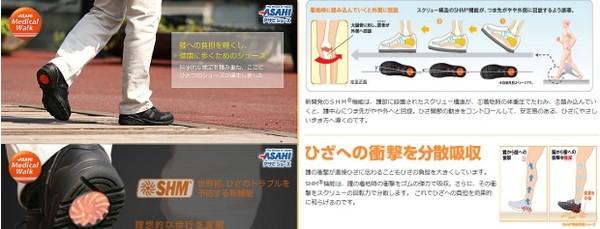 Специальная обувь из Японии против боли в коленках