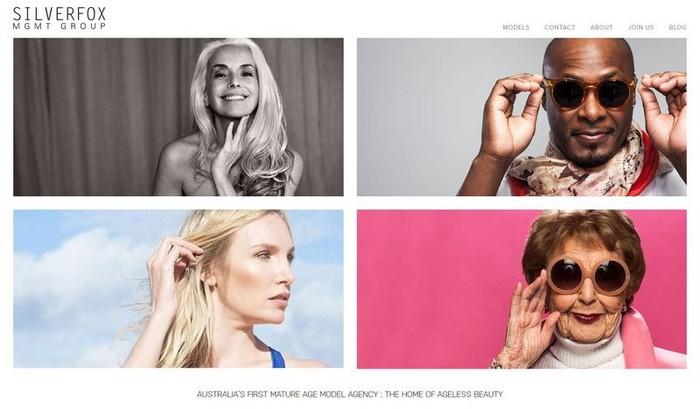 SILVERFOX – первое австралийское агентство для моделей от 30 до 90+