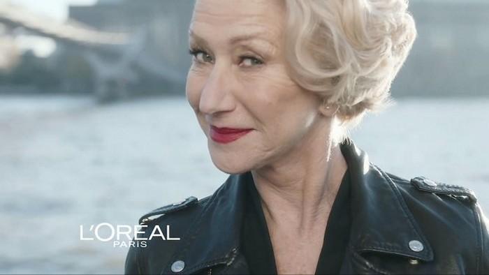 Актрисы Хелен Миррен и Джейн Фонда – лица «возрастной» линии косметики L'Oreal