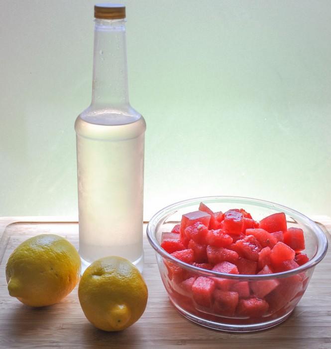 Как сделать арбузный лимонад