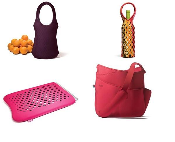 Практичные сумки и чехлы неожиданной формы Built от Салли Рамбл