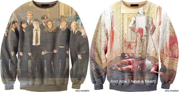 Sexy Sweaters для поклонников поп-культуры