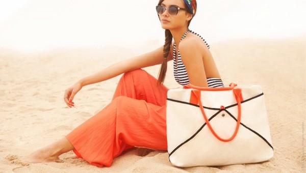 Пляжные сумки The Shake Tote не боятся песка