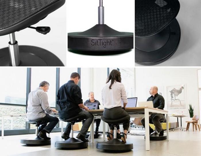 SitTight – стул-тренажёр, который заставит вас сжигать калории на рабочем месте