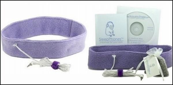 Комплект SleepPhones: маска для сна, наушники, саше и CD