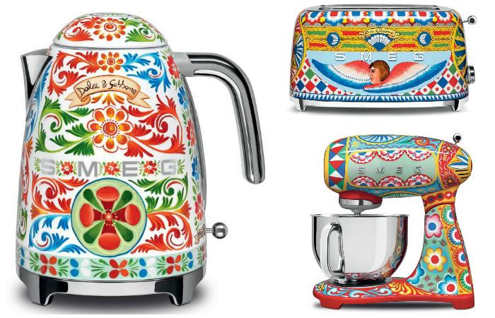 Красивейшая коллекция бытовой техники Sicily is my love от Smeg и Dolce & Gabbana
