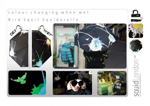 Мини-коллекция для дождливых дней от SquidLondon