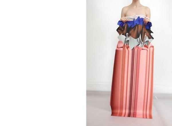 Гибридные ткани для одежды FABRIC авторства Стефани Беклер (Stephanie Baechler)