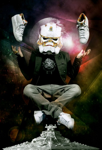 Дизайнерские маски имперских штурмовиков для фанатов «Звёздных войн»