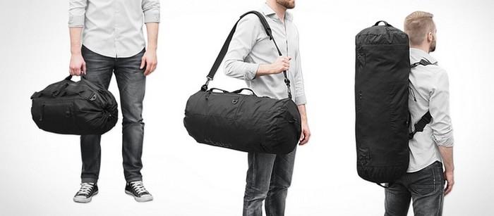 TAB – идеальная сумка-трансформер для путешествий и не только