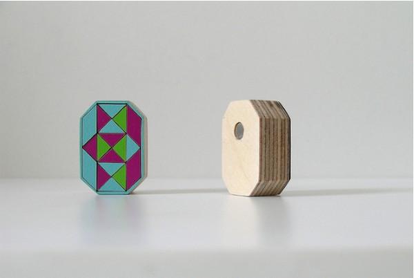 Коллекция ярких украшений-головоломок TANGRAM от Bandada