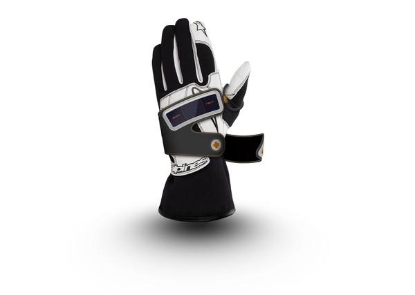 Технологичные горнолыжные перчатки TRI Smart Skiing system