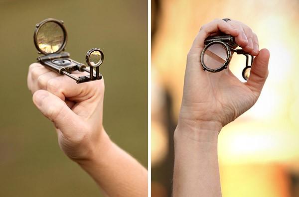 Механическое кольцо «4 в 1»