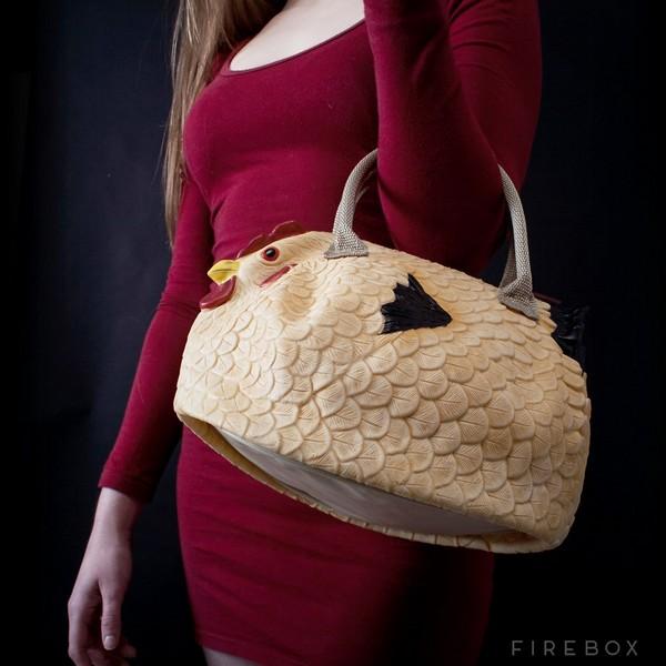 The Original Chicken Handbag – сумочка-несушка от британских дизайнеров
