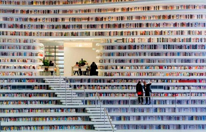 «Голливудская» библиотека в Биньхае (Китай).