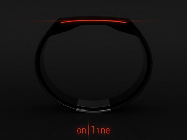 «Линейные» часы от Tokyoflash