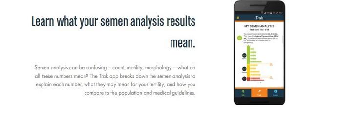 Trak Fertility – первый тест на фертильность для мужчин, который можно использовать дома