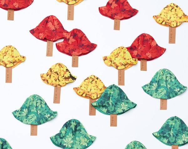 Дождевики-пончо и забавные панамы Tree Rain от Кеничи Матсумото (Kenichi Matsumoto)