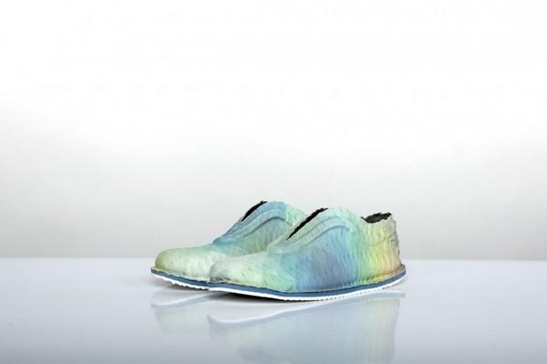 Полностью искусственная  обувь без ниток и клея от Эрика Хюллидж (Eric Hullegie)