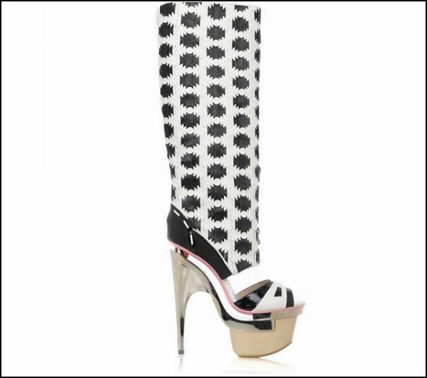 Обзор необычных галош и модных резиновых сапог: резиновые сапожки от Versace