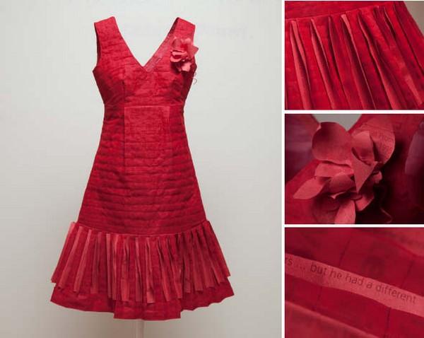 Как сделать платья из бумаги для человека